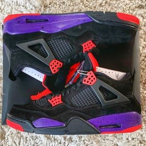 best website 9a5a9 b2868 Men Purple And Black Jordan Shoes on Poshmark
